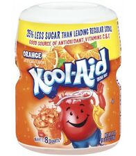 New Kool-Aid Orange Drink Mix Tub / Canister - 19oz - American Import