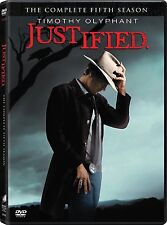 JUSTIFIED :  Fifth Season (2014) DVDNEW!!!FREE FIRST CLASS SHIPPING !!