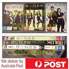 Bones Complete Season 1+2+3 (1-3) DVD - Aus Seller