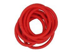 Red Snag Free Hairband Hair Elastics School Bobbles No Metal Hair Accessories UK