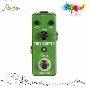 Rowin LEF-327 Trelicopter mini Guitar Effect Pedal with True Bypass