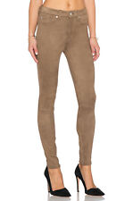 NEW Womens 7 For All Mankind High Waist Moca Skinny Embossed Snake Pant AU11 W29
