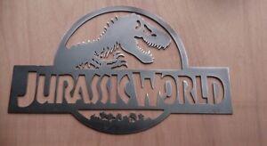 Jurassic World - Steel wall art memorabilia