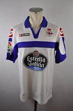 Deportivo La Coruna Trikot 12-13 Real Gr. L Lotto Estrella Galicia Third