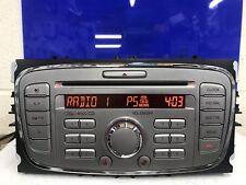 Plata 6000 Ford Focus C-Max Galaxy Etc Cd Auto Radio estéreo Reproductor de CD con Código