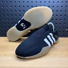 Adidas Taekwondo Core Black Slip On Martial Arts Shoes D98205 Women's Size 8