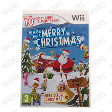 We Wish You A Merry Christmas for Wii Festive Games Kids 3+ *1ST CLASS POST*