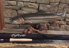 """NEW"" Scott A4 Fly Rod 10' 4wt Rod Wrap Sock N Tube Great 4pc Nymphing Rod"