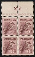 AUSTRALIA 1914 Kookaburra 6d Engraved Plate 1 in - 12442