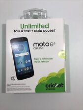 Cricket Wireless Motorola Moto E5 Cruise 16GB XT1921-2  GSM Android Phone
