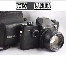 BELL & HOWELL TTL II con 55 mm f1.4 . No Nikon FM .No Pentax K 1000 No Canon Ae1