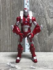 "IRON MAN INFERNO MISSION ARMOR Iron Man 2 Movie Series 3.75"" Hasbro 2010"
