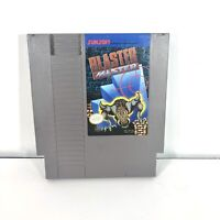 Blaster Master Nintendo Entertainment System, 1988 NES Authentic & Tested