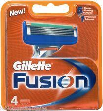 Gillette Fusion Razor Blades - 4 Pack
