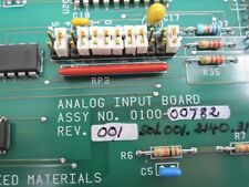 APPLIED MATERIALS 0100-00782 ANALOG INPUT PCB REV-001