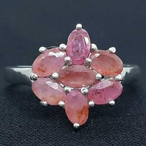 World Class 1.80ctw Mozambique Ruby 925 Sterling Silver Ring Size 7.5