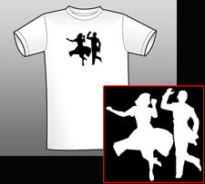 Fred Astaire & Ginger Rogers T-Shirt Swing Time Shall We Dance Top Hat Carefree