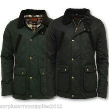 GAME OXFORD QUILTED WAX JACKET MENS S-2XL BRITISH MADE COUNTRY COAT