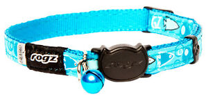 Rogz Cat Collar FancyCat Small Red, Yellow, Pink, Purple, Turquoise