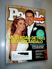 People En Espanol in Spanish Magazine September 2009