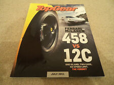 Top Gear magazine (subscribers edition) July 2011 Issue 219