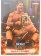 2013 TNA Impact Wrestling Live Bobby Roode SP Gold Insert Card # 47 / 50