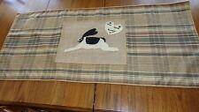 """Handmade Primitive Table Runner (24"""" x 55"""")/Folk Art"""