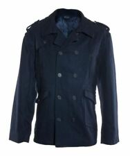 Cappotti e giacche da uomo blu con doppiopetto con colletto