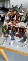 Lemax Village Santa's Workshop Sights & Sounds Christmas 35558 W/ Adapter