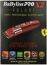 FX811 BABYLISS PRO VOLARE X2 WITH FERRARI-DESIGNED ENGINE RED