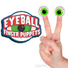 3 PACK - Eyeball Finger Puppets Gag Gift Party Favors Archie McPhee