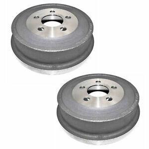 🔥Durago BD80101 Set Of 2 Rear Brake Drums for Jeep Liberty 2002 2.4L  3.7L🔥