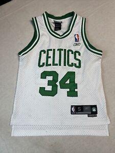 Paul Pierce Boston Celtics NBA Reebok Jersey Youth Size S +2 Number 8