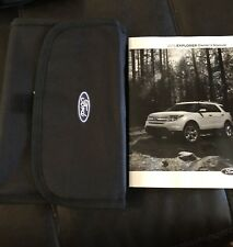 New listing 2015 Ford Explorer Owners Manual