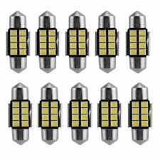 10 X 8LED Canbus Festoon 31mm License Plate / Map Dome Car Light 6418 C5W 6411