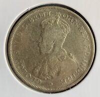 CB1661) Australia 1923 Florin coin. Price: $20