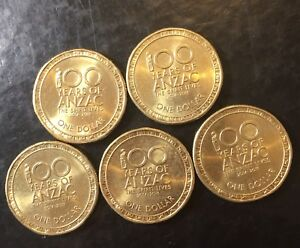 2017 100 Years Of anzac Australian Decimal Coin Low Mintage