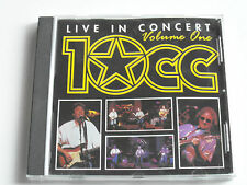 10CC - Live In Concert - Volume One (CD Album) Used Very Good