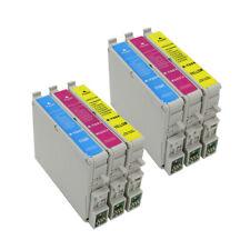 6PK 60 ink For Epson Stylus C68 C88 C88+ CX3800 CX3810 CX4200 CX4800 CX5800 7800