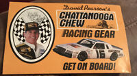 "DAVID PEARSON  #21 NASCAR ""CHATTANOOGA CHEW RACING"" Order Form Poster"