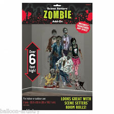 Halloween Undead Horror Scene Setter Add-on Kit ZOMBIE FAMILY