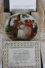 Knowles - Jeanne Down's Friends I Remember collection - Here Comes The Bride Coa
