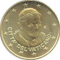 50 Centavos Vaticano 2012 Fior De Acuñación Rara Vaticano Vatikan Único Raro