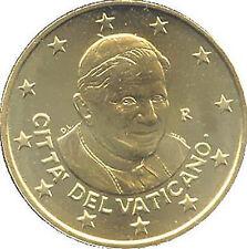 50 CENTESIMI VATICANO 2012 FIOR DI CONIO RARA VATICAN VATIKAN 50 cent UNICO RARO