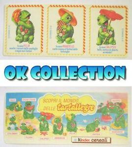 ADESIVO KINDER FERRERO TARTALLEGRE 1992 _ Vintage Old Sticker (cm 21 x 9)