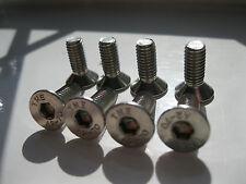m8 x 16mm long front rear  brake disc retaining screws  x 8 free post