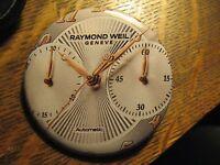 Raymond Weil Geneve Automatic Swiss Watch Logo Advertisement Lapel Button Pin