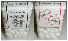 28 WEDDING FAVORS TIC TAC LABELS ~ PERSONALIZED