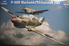 1/48 Curtiss P-40B Warhawk Trumpeter Kit