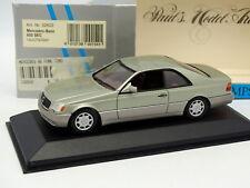 Minichamps 1/43 - Mercedes 600 SEC Rauchsilber